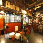昭和を思わせる雰囲気の店内ときめ細やかなサービス。何度でも足を運びたくなる居心地のよいお店です。