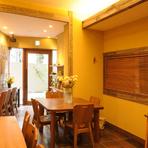 女性リピーター多数。カフェスペース「カフェ縁 Yosuga」