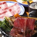 伊勢神宮で愛されてきた伊勢牛を 関西風すき焼きでどうぞ。 東京ではお目にかかれないサイズの黒毛和牛を是非お愉しみ下さいませ。