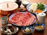 名物コロッケとサラダ・しゃぶしゃぶ・お食事・甘味
