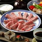 最高級の伊勢牛の香りと旨みを最大限味わって頂く為に 焼肉スタイルで登場です。