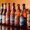 輸入ビールの種類が豊富。お気に入りのビールで乾杯!