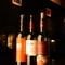 世界各国から厳選したものを1杯500円から楽しめる『ワイン』