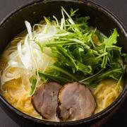 地鶏ぶり鶏の旨味たっぷりの塩スープ  【価格】1080円