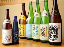 こだわりの美味しい日本酒も豊富に