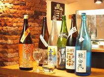 日替わりで約30種の地酒をご用意! ★『神奈川全13蔵』の地酒も取り揃えています。