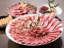 こだわりのお肉を惜しげもなく提供! 『食べ放題』