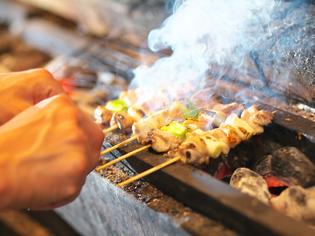 さまざまな部位を楽しめる「阿波尾鶏」を使った『焼き鳥』