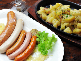 地元福島県の食材を積極的に使用。ジャガイモ料理にこだわりあり