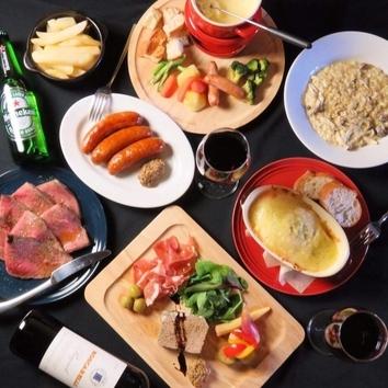 【月~木曜限定】料理が選べる女子会コース