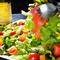 彩り豊かなサラダ
