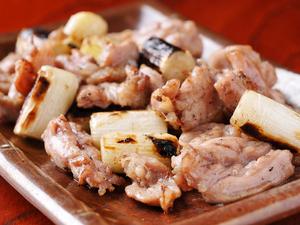 こだわりの鶏『せせり身焼き しお/タレ』 ネギ入り+200円