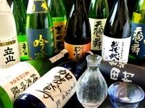 他ではなかなか飲めない、地酒・焼酎も豊富に取り揃えております