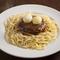 牛肉の美味しさが口の中に広がる『ハンバーグスパゲッティ』