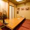 家族でゆっくりくつろげる個室も人気があります