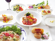 ディナーで楽しむ『おまかせ旬菜コース』
