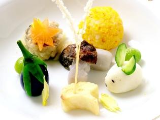 四季折々の味わいを堪能できる『季節の前菜』