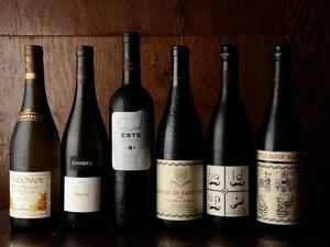 最高級のお肉と一緒に楽しめる『ワイン各種』