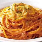 モッツアレラチーズのトマトクリームソース