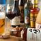 ビールやワイン、ウィスキーなど豊富なドリンクが魅力