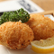 ズワイガニの風味を味わう『蟹まみれの蟹クリームコロッケ』二個