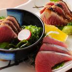 季節のお料理に貝焼きがついたお料理コースとなっております。(※+1500円で2時間飲放題付きもできます)