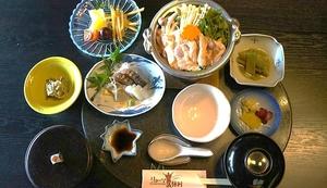 NEW!! 軍鶏鍋定食