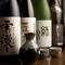 全国各地のお酒が種類豊富に揃っています
