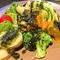 糸島野菜の温かいサラダ