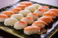月替わりのお寿司