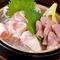 朝引きの錦爽鶏を使用『新鮮! 鶏刺し3種盛り』