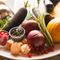 色とりどりの新鮮で美味しい野菜は大切な食材