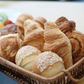 フランスの有名ブーランジェリーのパンが楽しめます