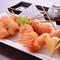 北海道を中心とした国産食材にこだわっています