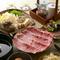 選べるすき焼き+和牛タタキのコース。黒毛和牛をたっぷり楽しめます