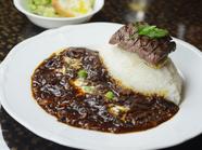 深い味わい『おやま和牛ステーキ&168時間熟成ハヤシライス』