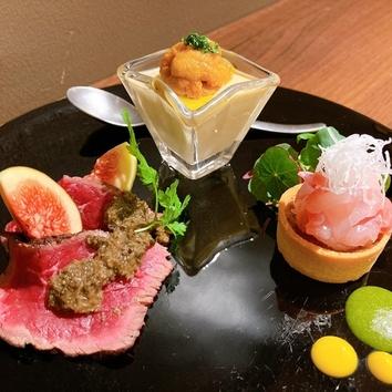 お得『旬の味覚を厳選 Chef's Selectionランチフルコース』全8皿