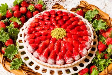 マンゴーが満載『南国フルーツのタルト』(夏季限定※取り扱いのない場合もあり)