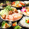 魚龍特製チーズタッカルビコースが登場です! 他にも全8品付いた贅沢なコース内容となっております!