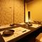 2名様からご案内可能な個室席は居心地の良い空間を演出。