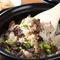ふっくらと炊き上がった『京赤地鶏&トリュフの土鍋ご飯』