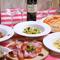ランチも、ディナーも、本格派イタリアンをコースで味わえる!