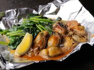 ミルキーな広島県倉橋島産牡蠣を味わう『牡蠣バター』