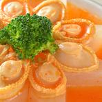 ミニ青梗菜のニンニクソース炒め