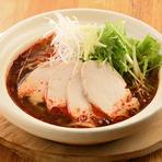 旬の食材を使用した五種盛り羽根餃子!!