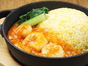 甘辛な角煮ダレがあと引く、台湾風かけご飯