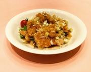 サクサクの唐揚げに染み込むさっぱり葱だく中華ソース
