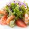 ソースのようなアボカドで楽しむ『海老とアボカドのサラダ』