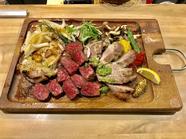 肉料理3種盛り合わせ(2~3人前)