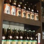 日本酒は季節などにより品揃えが変わりますが、焼酎は気軽に飲めるものもあり、3ヶ月間キープできます。